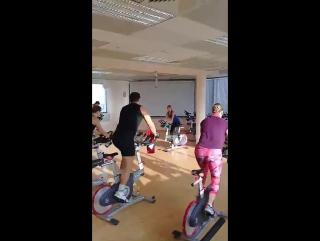 Cycle+ABS с Татьяной Сярг в фитнес-центре Premium