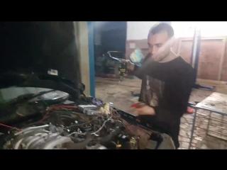 W124 c двс 3uz fe vvti