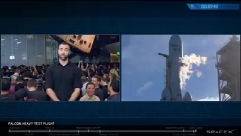 Очередное ракетное Шоу Илона Маска - наглое, но прекрасное...