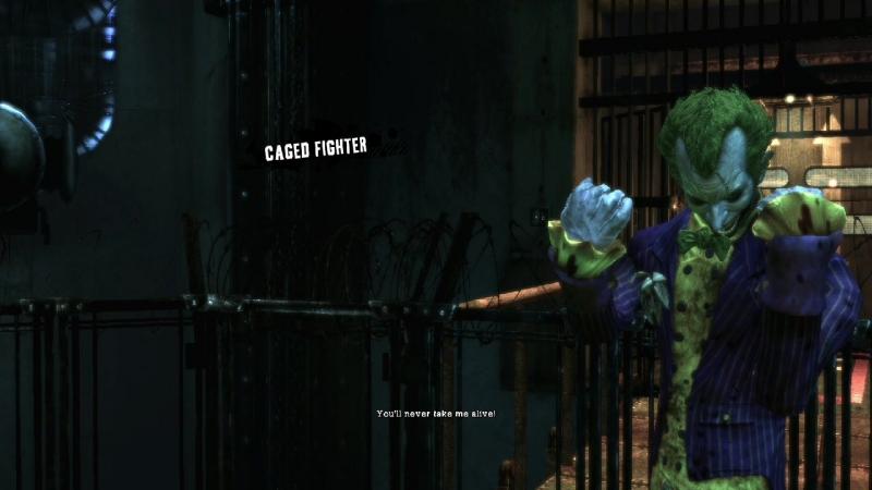 Джокер - Живым вы меня не возьмете!