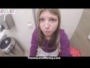 Девушка трахается в туалете за деньги