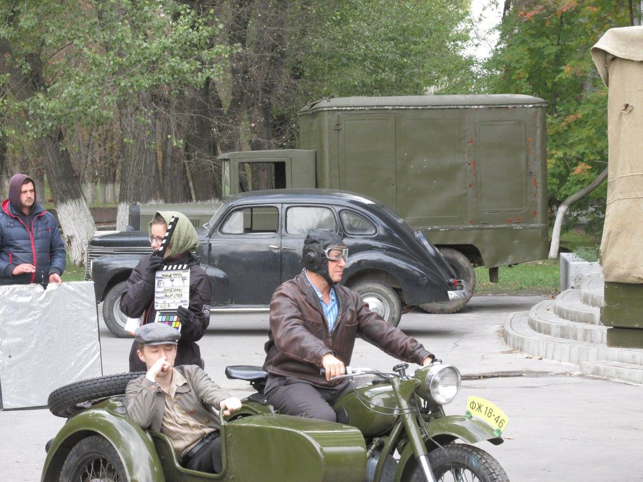 В Таганроге из-за съемок фильма «Зеленый фургон» в центре города перекроют движение