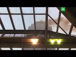 В Нью-Йорке горит Trump Tower