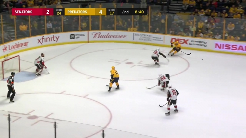 Ottawa Senators – Nashville Predators, 20.02.2018