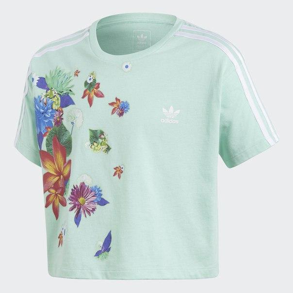 Укороченная футболка GRPHC