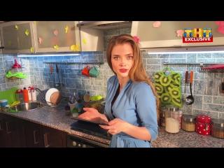 Ева смотрит новую серию «СашаТаня»