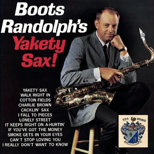 Boots Randolph альбом Yakety Sax!