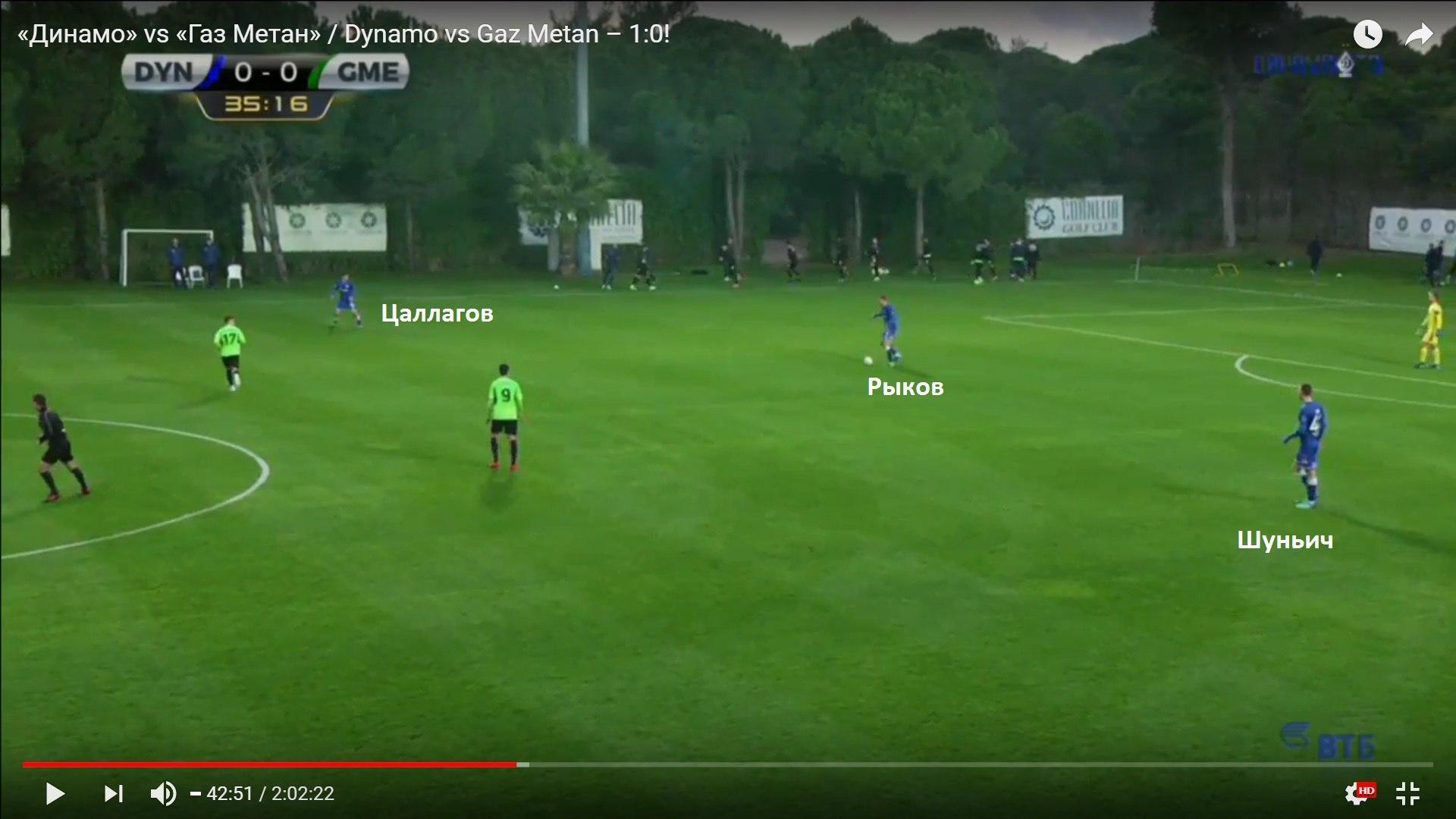 Марков исполнил роль Заболотного: тактические штрихи первого матча «Динамо»