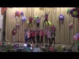 Выступление черлидеров в загородном танцевальном лагере АСТТК 2017