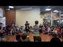 Фестиваль Level up Баттл по брейк-дансу в Академии Танца Саратов. 04.02.2018. 23. Отборочный тур. Дети.