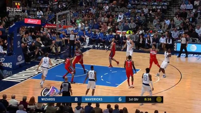НБА   Даллас Маверикс 98-75 Вашингтон Уизардс   Обзор матча