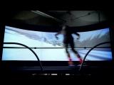 Real Skiing in Virtual Reality  SkyTechSport Simulator