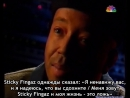 Russell Simmons about Sticky Fingaz (NBC Report on Gangsta Rap) (1993) [Russian Subtitles]