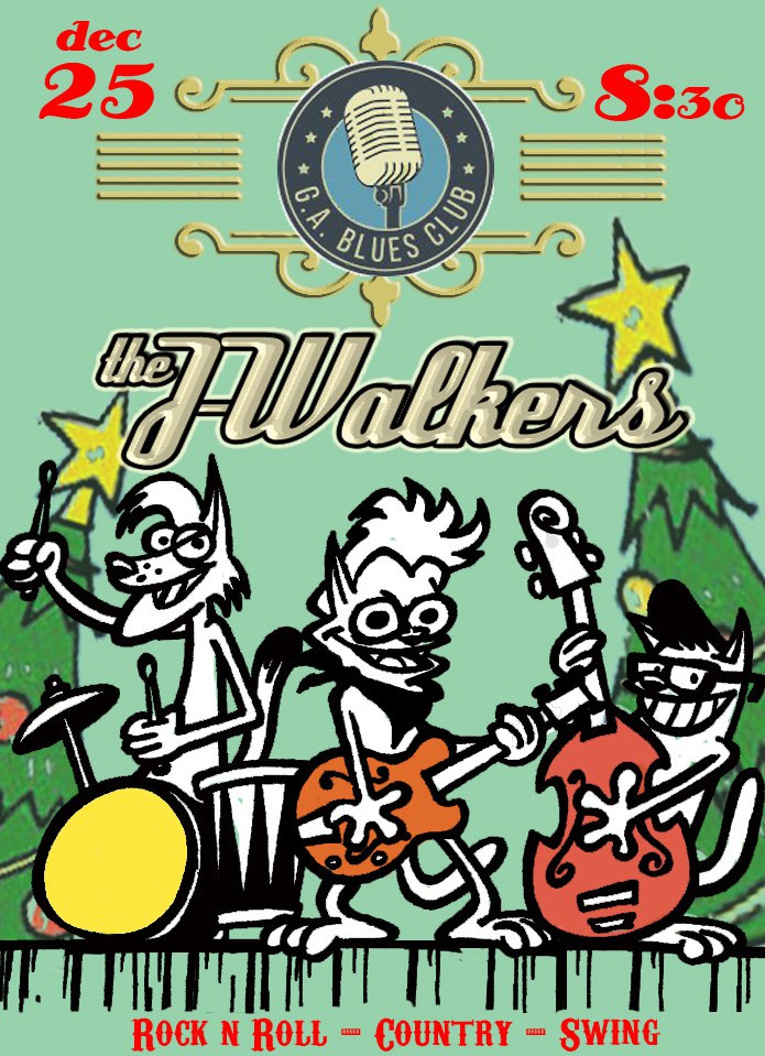 25.12 The J-Walkers в G.A.Blues Club