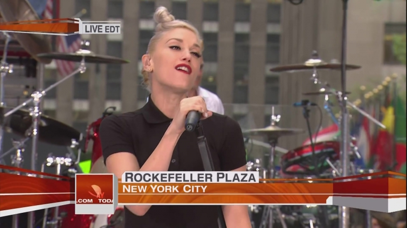 No Doubt - dont speak its my life NBC today Show