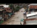 Тропический шторм Тембин. Наводнение на острове Минданао (Филиппины, 23.12.2017)
