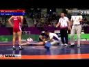 Борец уснул от гильотины. Чемпионат мира по вольной борьбе