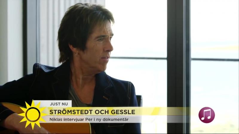 Strömstedt och Gessle om sin långa vänskap - Nyhetsmorgon (TV4)