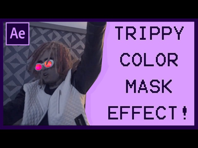Lil Pump - Flex Like Ouu Trippy Color Mask Effect! (Cole Bennett)