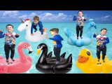 Five little Babies Jumping on the bed Baby Nursery Rhymes song for kids Children song