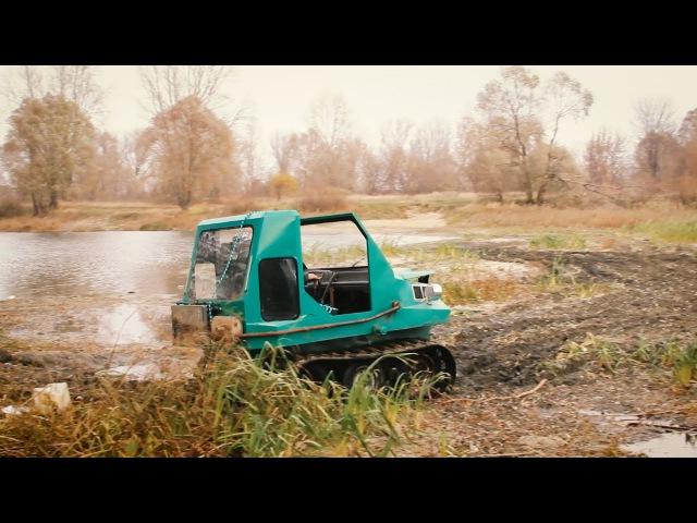 Нижегородский Кулибин: Андрей Раевский и его плавающий вездеход