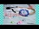 Афинка из бечевки с джинсовым цветком своими руками/ DIY Greek Headband