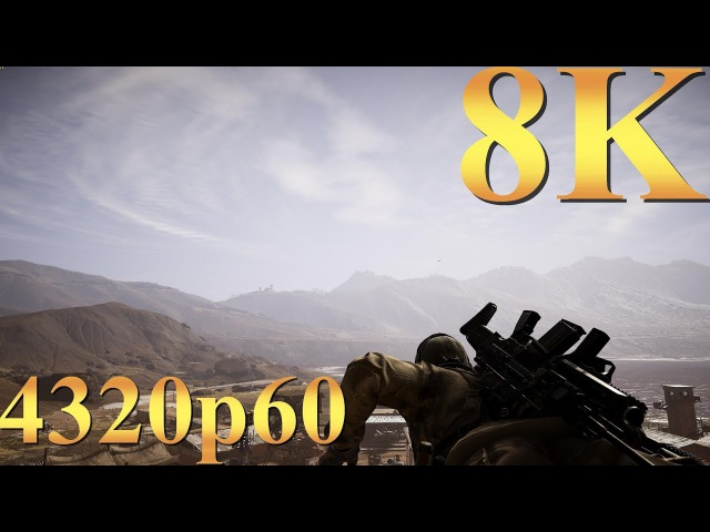 Ghost Recon Wildlands 8K 4320p60 Gameplay Titan X Pascal 3 Way SLI PC Gaming 4K | 5K | 8K and Beyond