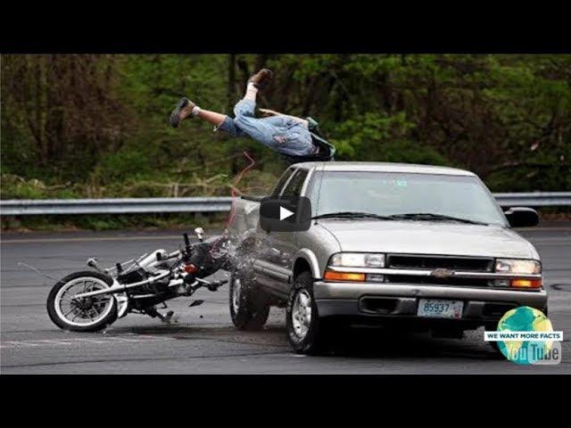 15 шокирующих и ужасающих мотоциклетных сбоев, оказавшихся на GoPro!