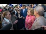 Валентина Матвиенко встретилась с противниками реновации