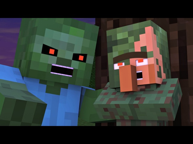 Villager Witch Life 5 - Alien Being Minecraft Animation