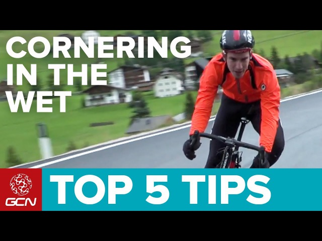 Top 5 Tips For Cornering In The Wet | GCN's Pro Cycling Tips