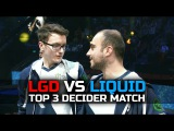 LIQUID vs LGD - AMAZING Games - 2.500.000$ TOP 3 Decider Match - EPIC TI7 Dota 2
