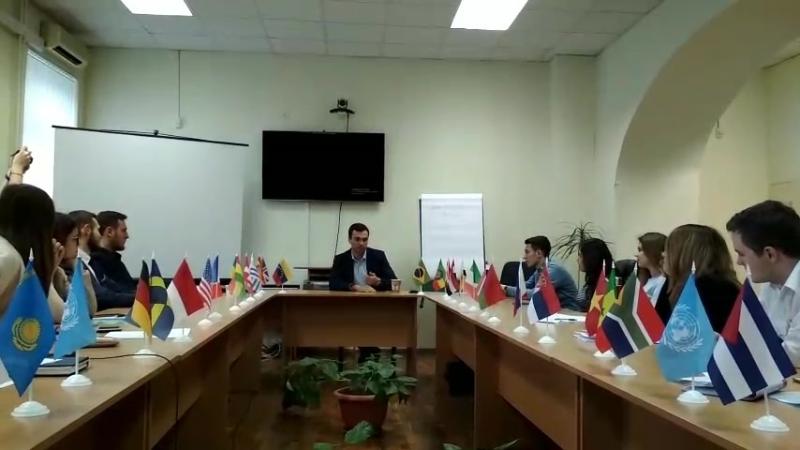 Дмитрий Дудка на ПерваяДипломатия