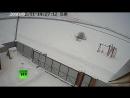 Момент падения самолёта Ан-148 попал на камеру видеонаблюдения