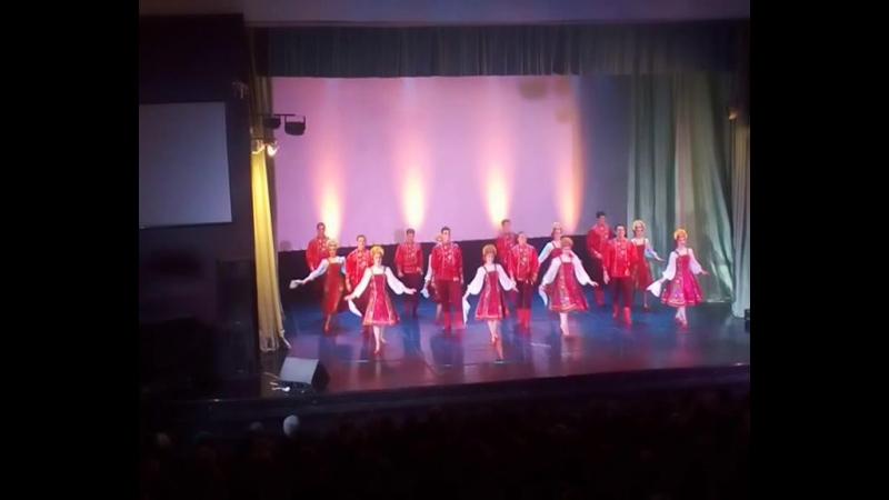 В Шарье выступил коллектив Русского национального балета Кострома