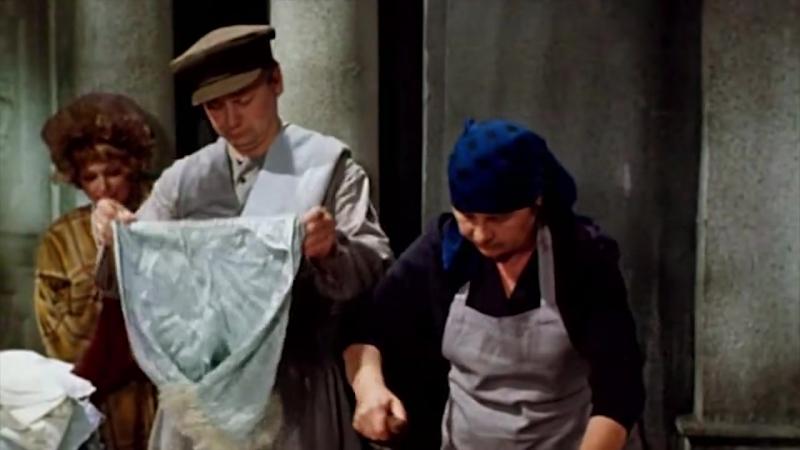 Олег Табаков Эпизод из телевизионного фильма 12 стульев 1976 год