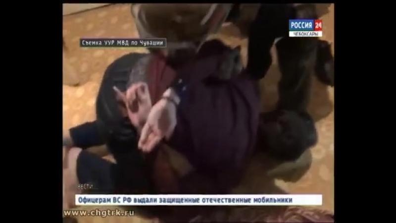 В Чебоксарах задержан уроженец Саратовской области, подозреваемый в совершении особо тяжкого преступления