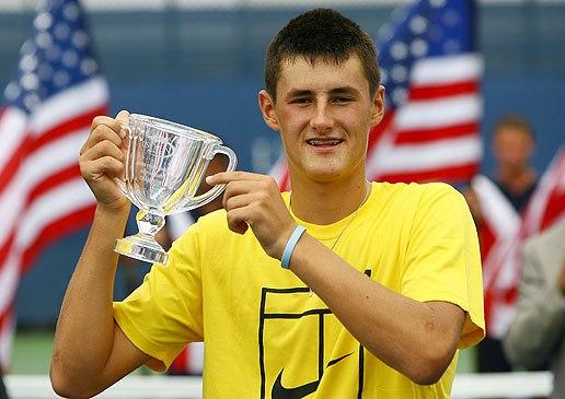 Бернард Томич победитель юниорского США