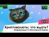 Live: Криптовалюты, что ждать?  Информация от Московской Биржи