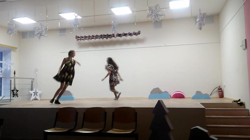 танец на новый год 9 класс