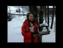 Участница акции Живая вода - Смирнова Анна, 5 класс, Нюксенский район.