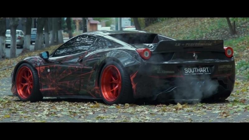 AEEE_LIFE\\Ferrari 458 Liberty WalkAUTOCARS AUTO TACHKI MUZIK