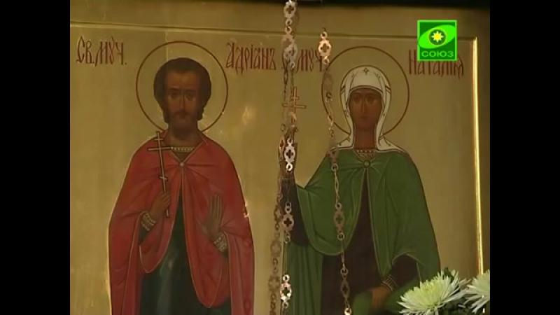 Храм святых мучеников Адриана и Наталии в Бабушкине (из цикла