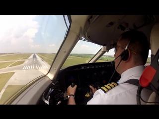 Посадки самолётов с ветром