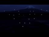 Шоу балет дронов на фоне горы Фудзияма -- Mt.Fuji - Drone Ballet Show