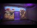 Волшебная сенсорная комната в детском саду. Проекция на стены и потолок