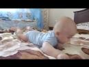 Тимофійчик робив мамі куку (нам 4,5 місяці)♥