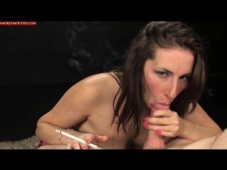 Good mouth (amateur pov blowjob cumshot handjob boobs busty sex porn smoking cum fetish минет оргазм)