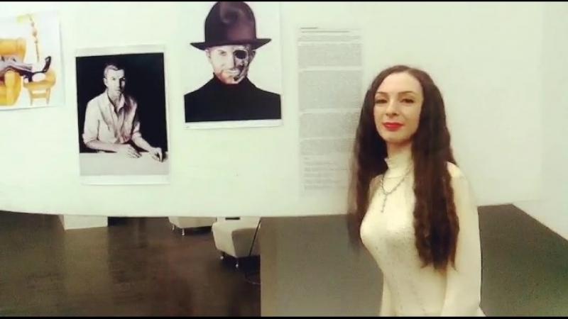 Выставка картин. Киев, 2018. Milena Barshatskaya