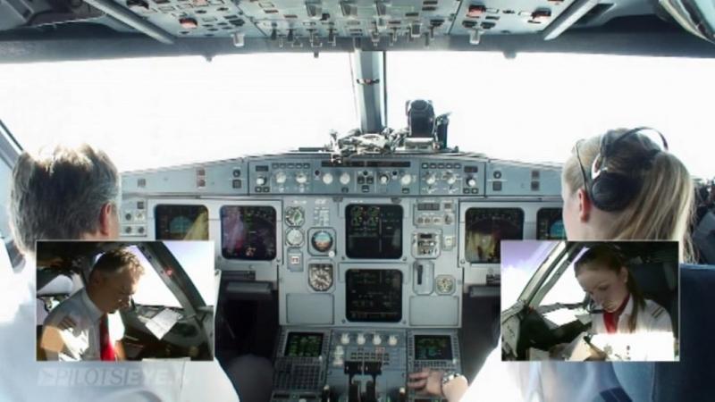 Глазами пилота Вена Барселона Русский дубляж